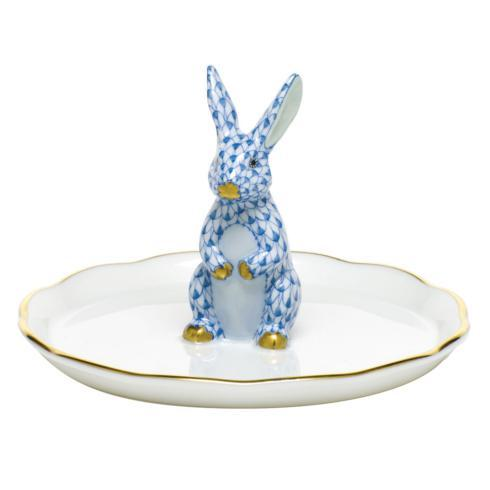 Bunny Ring Holder - Blue