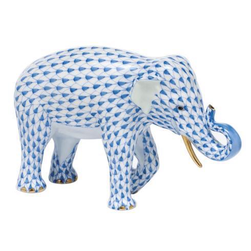$785.00 Asian Elephant - Blue