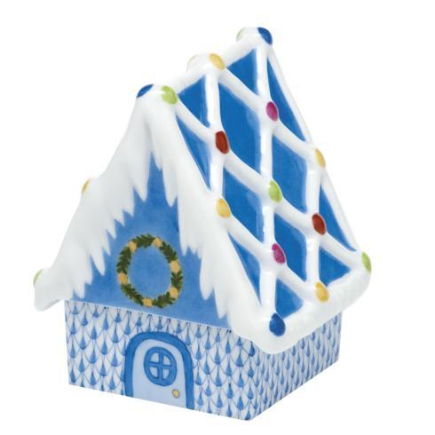 Gingerbread House - Blue image
