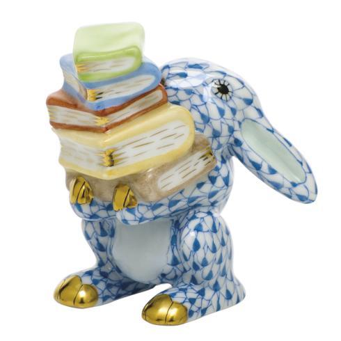 $350.00 Scholarly Bunny - Blue
