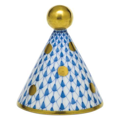 $175.00 Party Hat - Blue