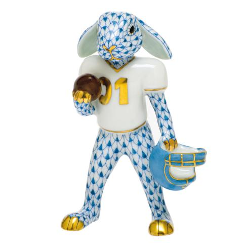 $435.00 Football Bunny-Blue