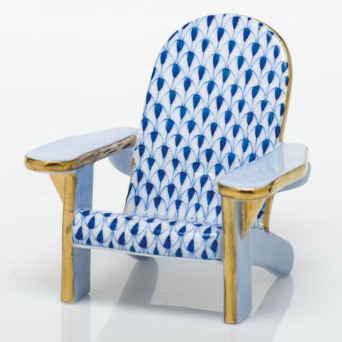 Adirondack Chair - Sapphire