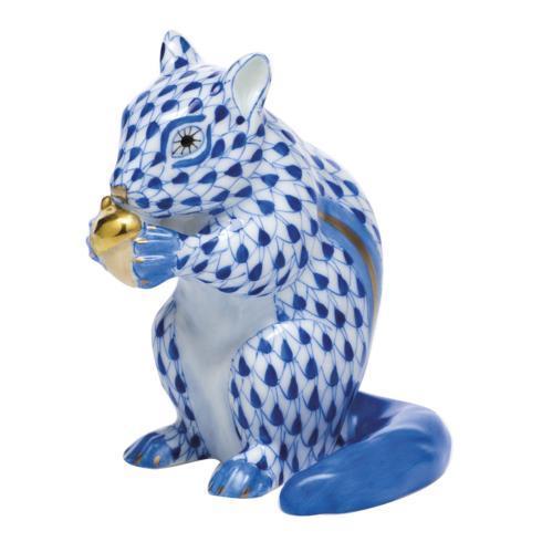 Chipmunk with Acorn - Sapphire
