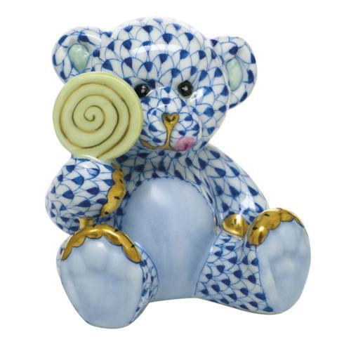 $425.00 Sweet Tooth Teddy - Sapphire
