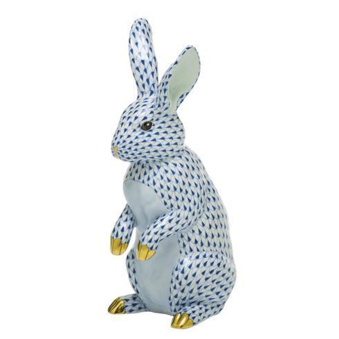 $1,775.00 Large Standing Rabbit-Sapphire