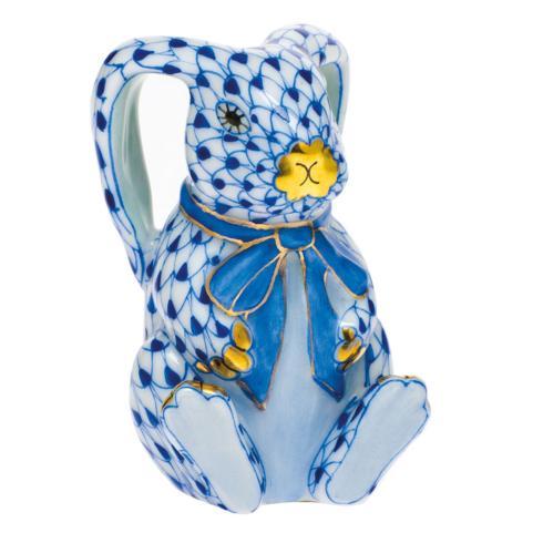 $385.00 Bunny with Christmas Lights-Sapphire