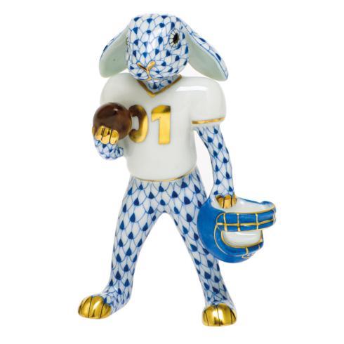$435.00 Football Bunny-Sapphire