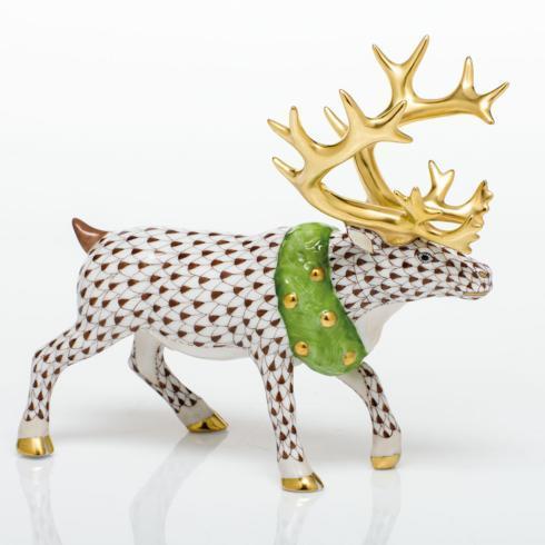 $785.00 Holiday Reindeer - Chocolate