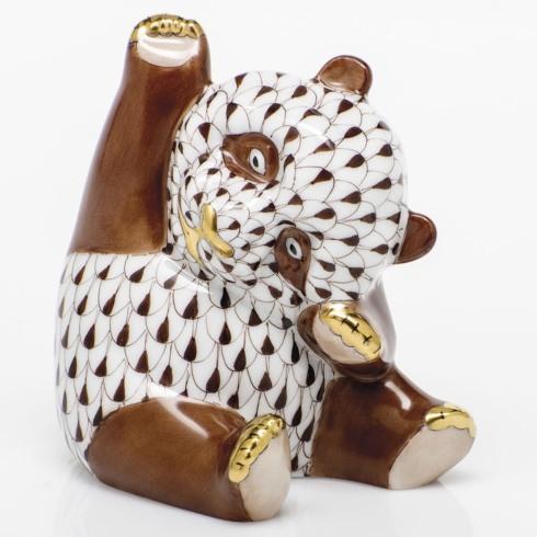 Playful Panda - Chocolate
