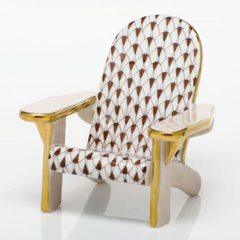 $295.00 Adirondack Chair - Chocolate