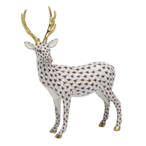 $650.00 Deer - Chocolate