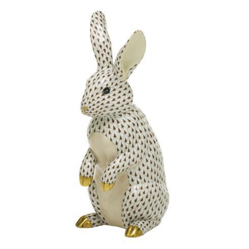 $1,775.00 Large Standing Rabbit-Chocolate