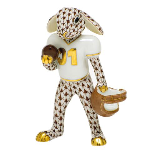 $435.00 Football Bunny-Chocolate