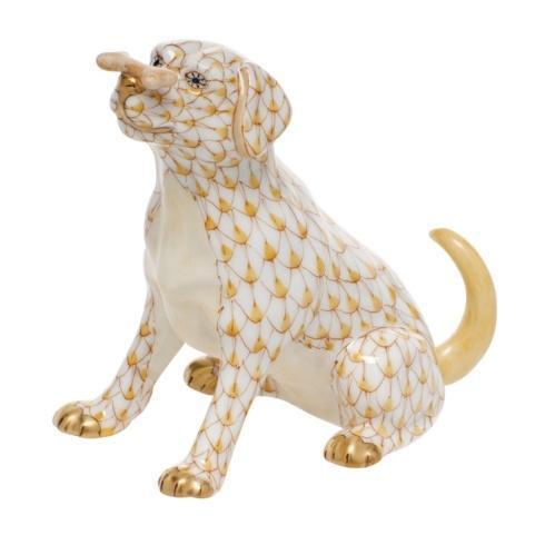 Herend Figurines Dogs Max w/bone  $340.00