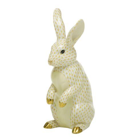 $1,775.00 Large Standing Rabbit-Butterscotch