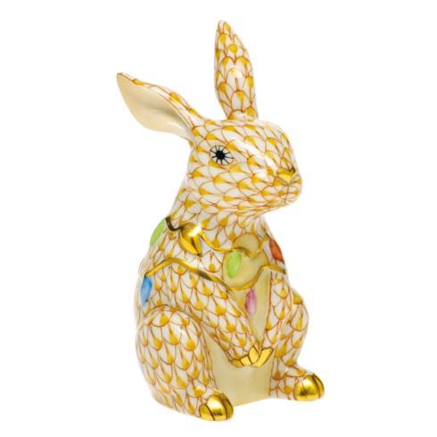 $385.00 Bunny with Christmas Lights-Butterscotch