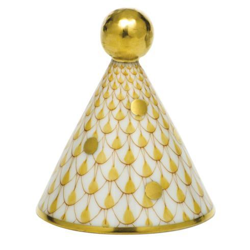 $175.00 Party Hat - Butterscotch