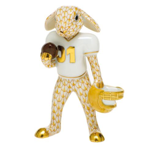 $435.00 Football Bunny-Butterscotch