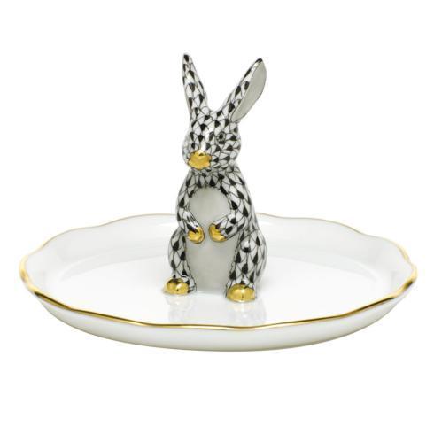 Bunny Ring Holder - Black