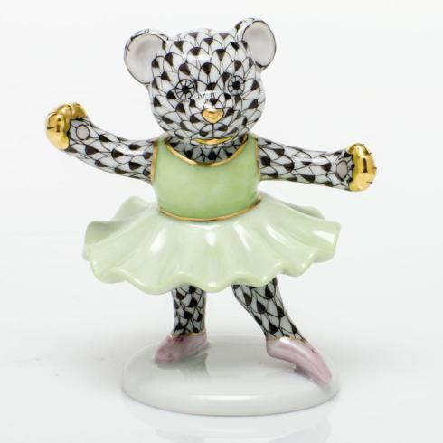 $325.00 Ballerina Bear - Black