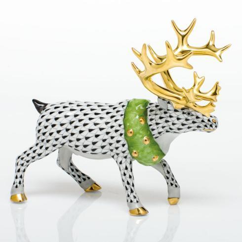 $785.00 Holiday Reindeer - Black