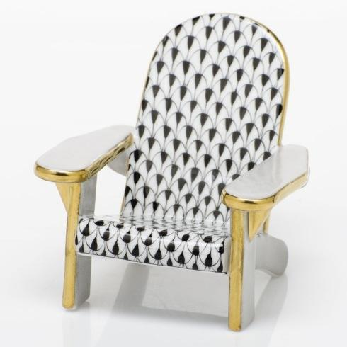 $295.00 Adirondack Chair - Black