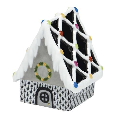 Gingerbread House - Black image