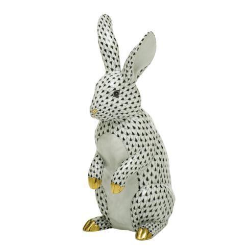 $1,775.00 Large Standing Rabbit-Black