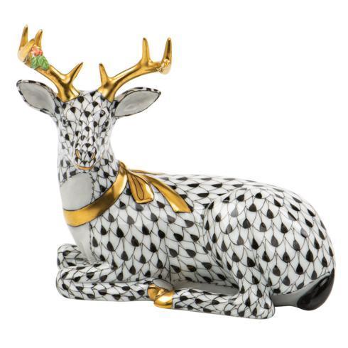 $575.00 Lying Christmas Deer-Black