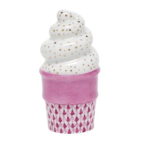 Ice Cream Cone - Raspberry
