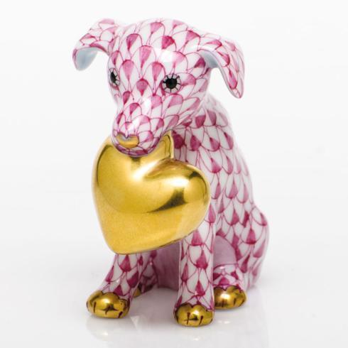 $295.00 Puppy Love - Raspberry
