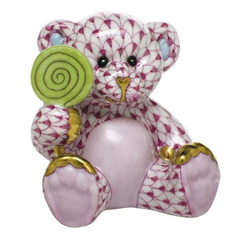 $425.00 Sweet Tooth Teddy - Raspberry