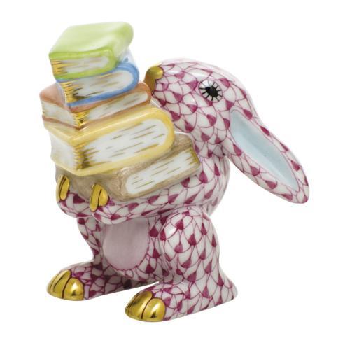 Scholarly Bunny - Raspberry
