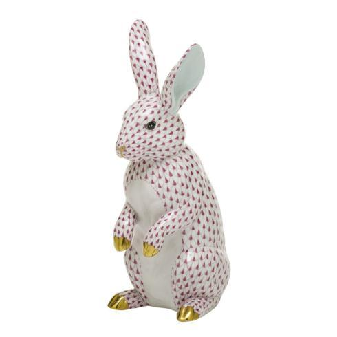 $1,775.00 Large Standing Rabbit-Raspberry