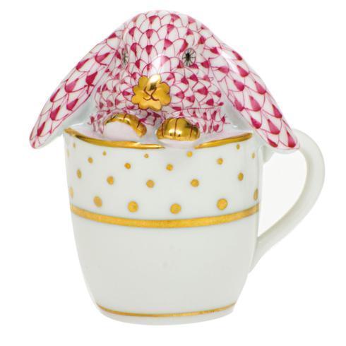 Tea Cup Bunny-Raspberry image