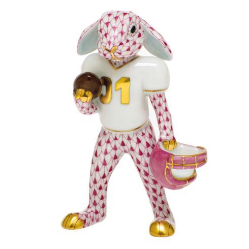 Football Bunny-Raspberry image