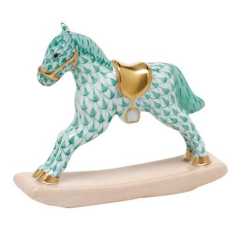$350.00 Rocking Horse - Green