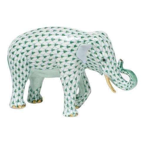 $785.00 Asian Elephant - Green