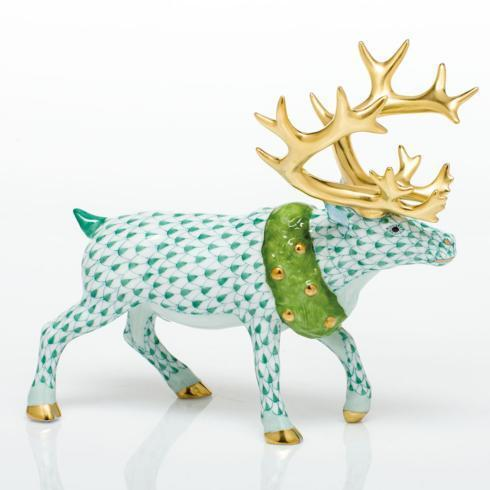 Holiday Reindeer - Green