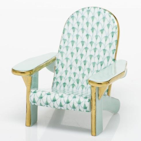$295.00 Adirondack Chair - Green