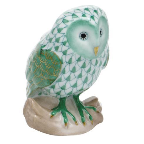 $310.00 Barn Owl - Green