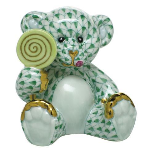 $425.00 Sweet Tooth Teddy - Green