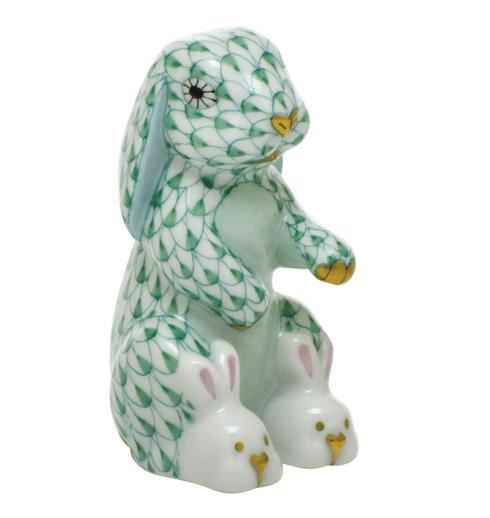 $325.00 Bunny Slippers - Green