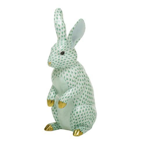 $1,775.00 Large Standing Rabbit-Green