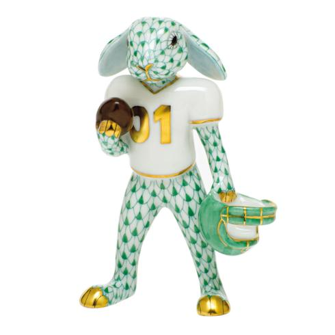 $435.00 Football Bunny-Green