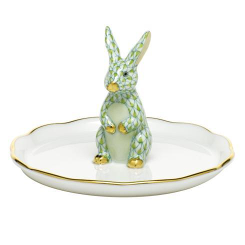 $275.00 Bunny Ring Holder - Key Lime