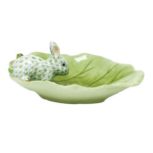 $350.00 Bunny on Cabbage Leaf - Key Lime