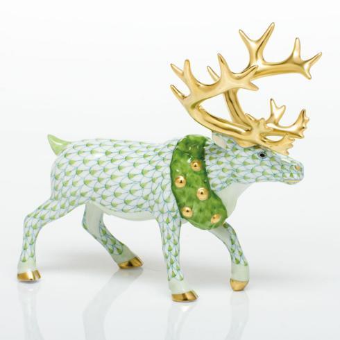 Holiday Reindeer - Key Lime image