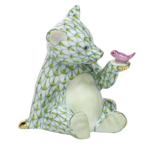 $390.00 Bear with Bird - Key Lime